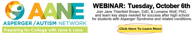 October 6th Webinar - Preparing for College with Jane & Lorre